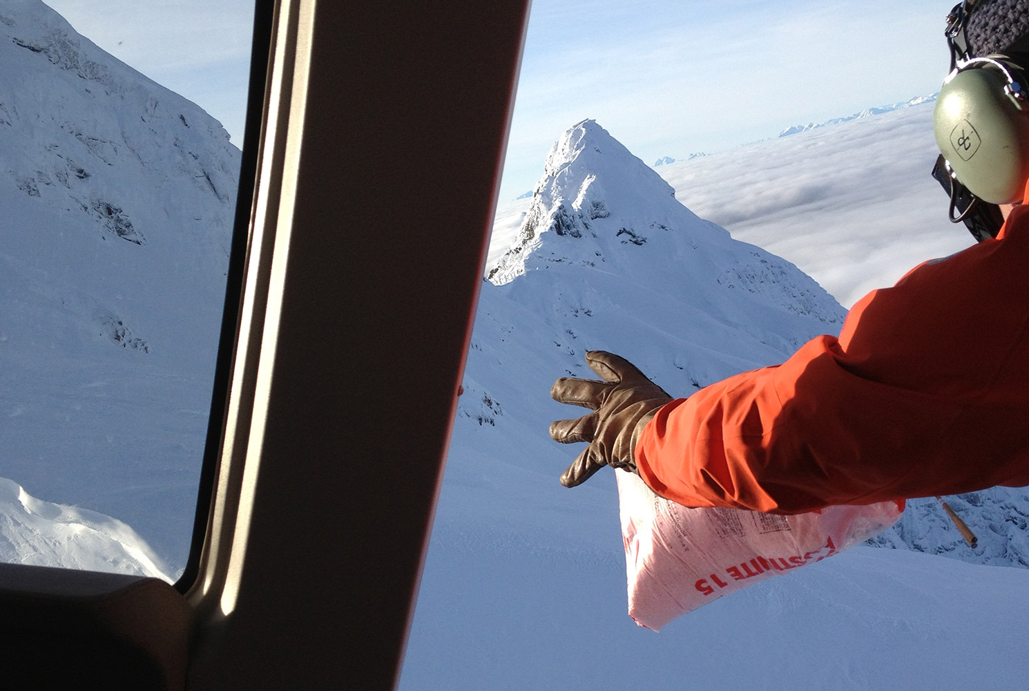 avalanche control and heli-skiing